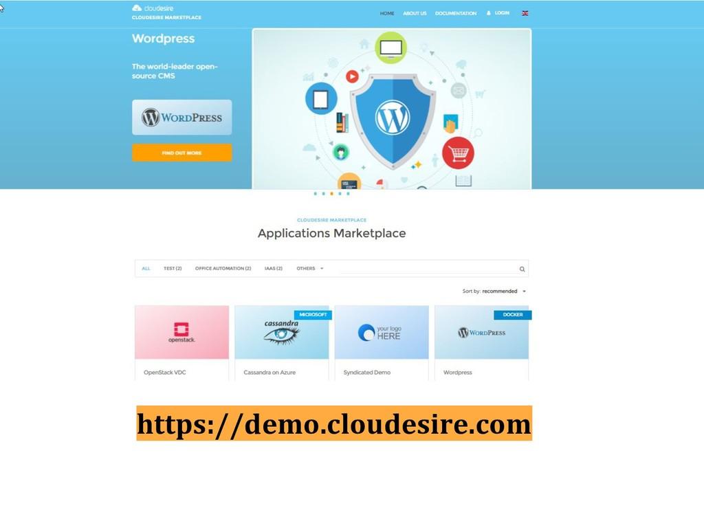 https://demo.cloudesire.com