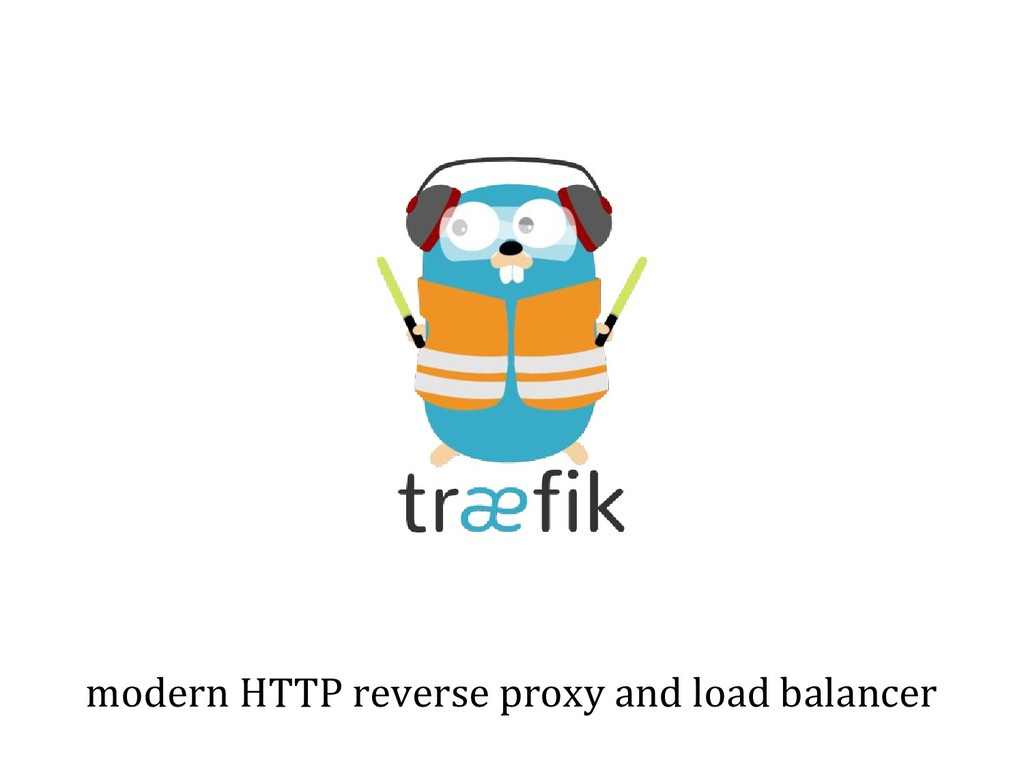 modern HTTP reverse proxy and load balancer