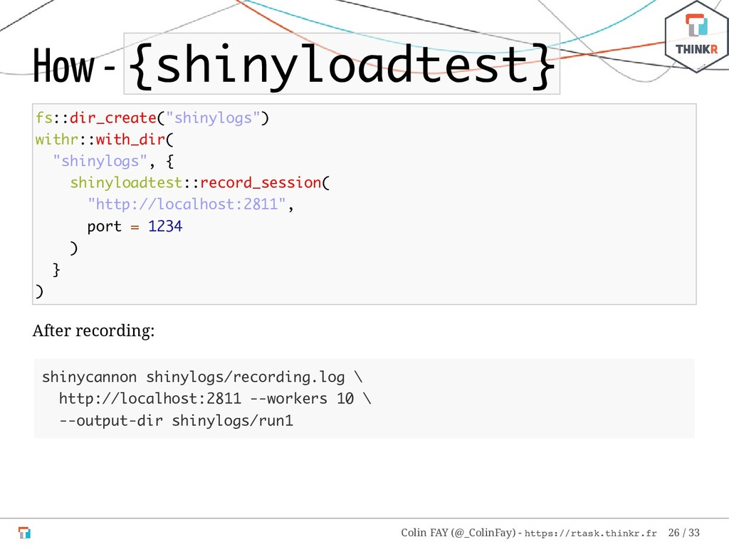"How - {shinyloadtest} fs::dir_create(""shinylogs..."