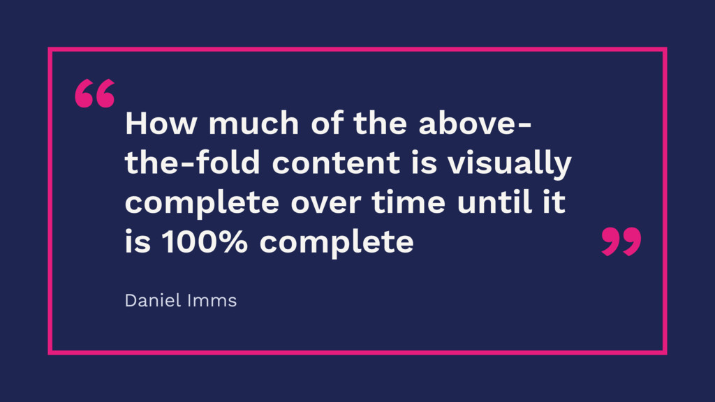 """"""" """"How much of the above- the-fold content is v..."""