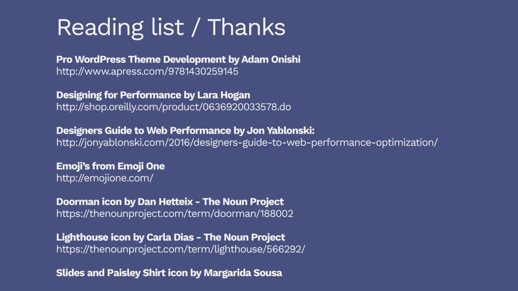Reading list / Thanks Pro WordPress Theme Devel...