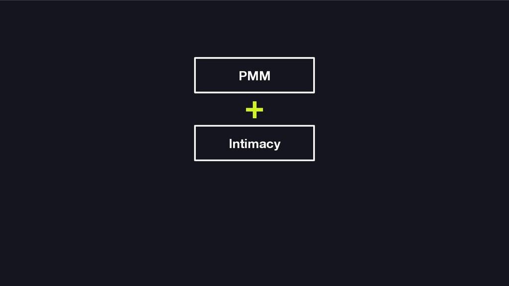 PMM Intimacy +
