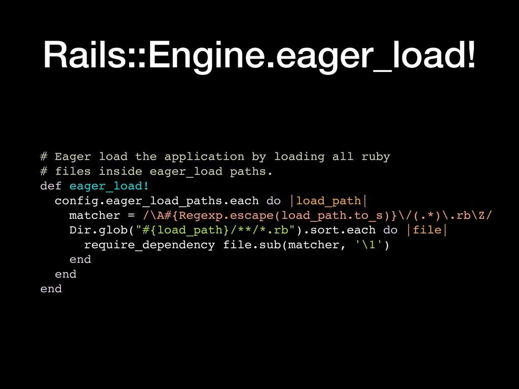Rails::Engine.eager_load! # Eager load the appl...