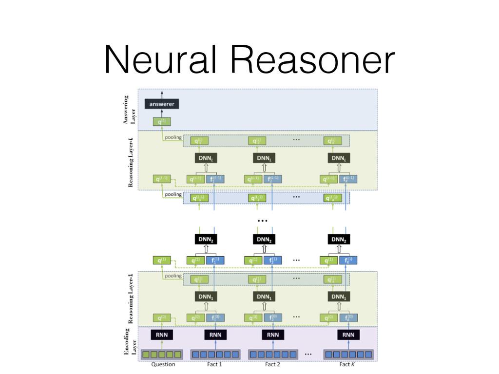 Neural Reasoner