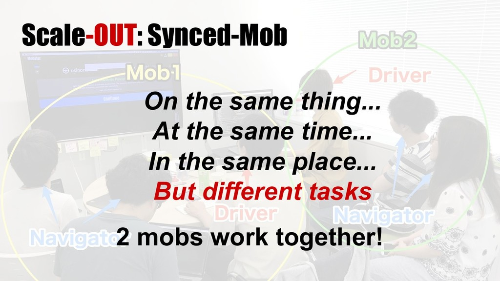 2 mobs work together! Scale-OUT: Synced-Mob On ...
