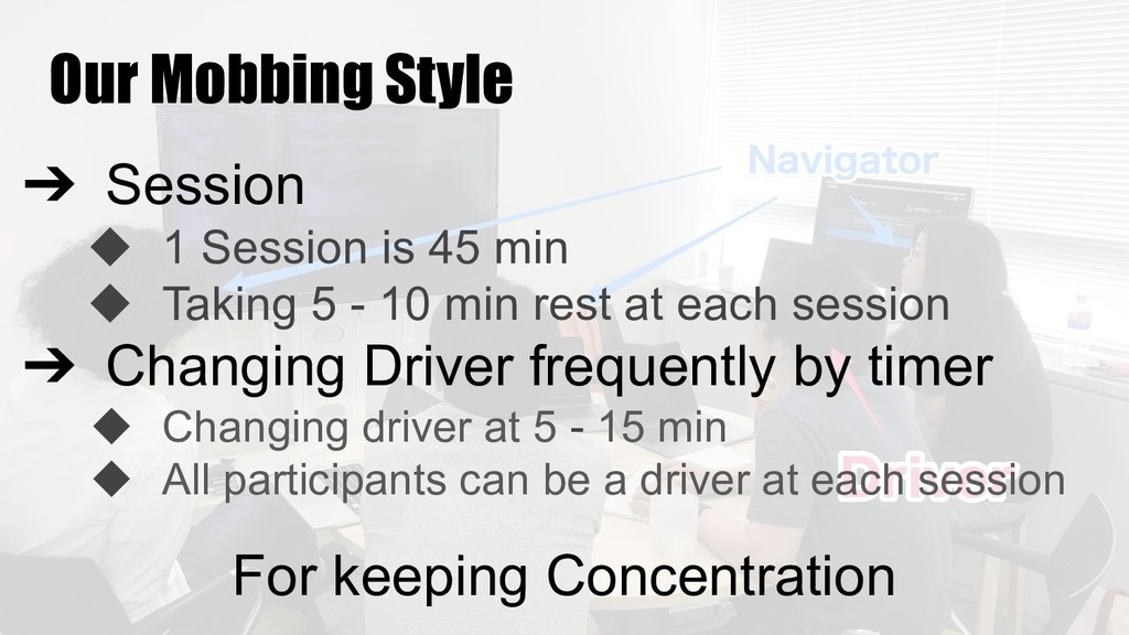 Our Mobbing Style ➔ Session ◆ 1 Session is 45 m...