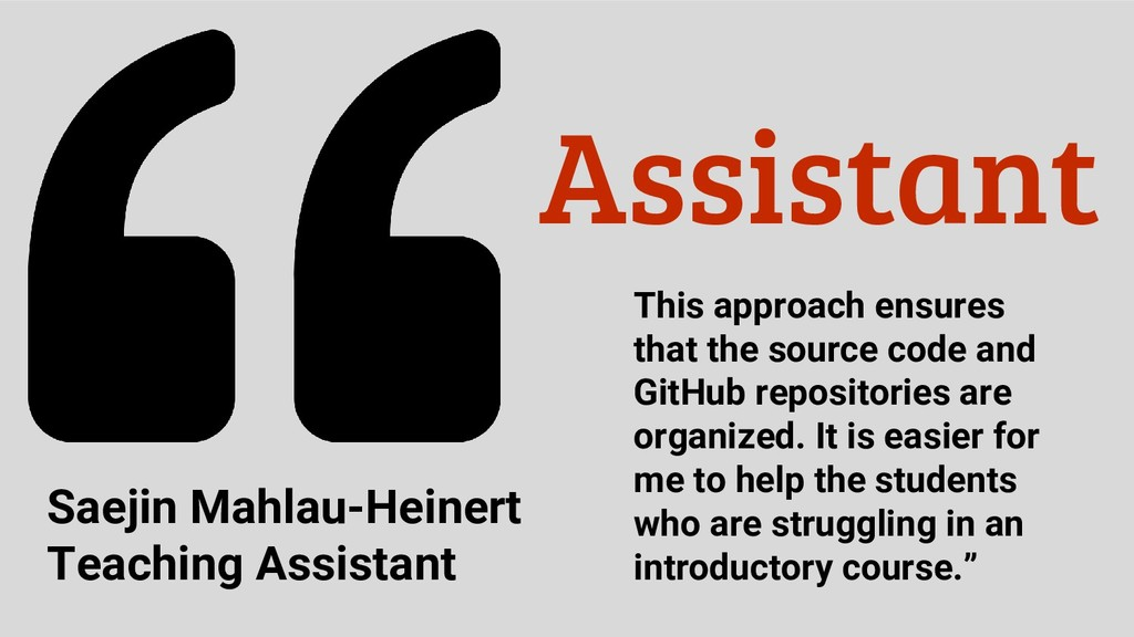 Assistant This approach ensures that the source...