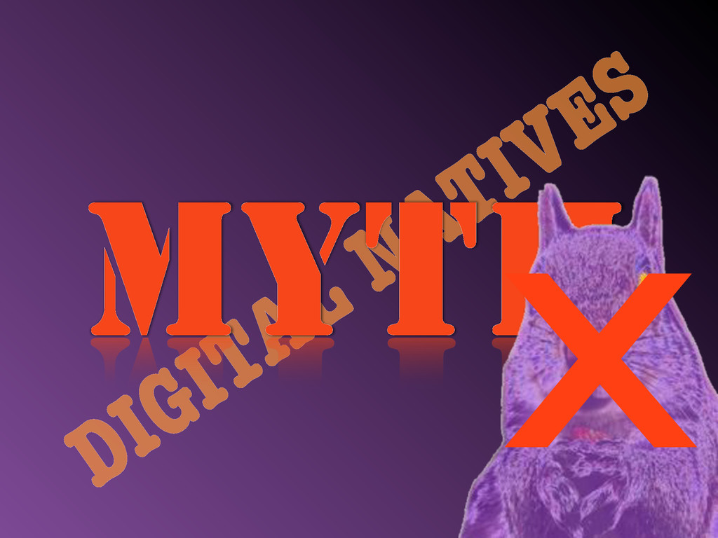 DIGITAL NATIVES MYTH x
