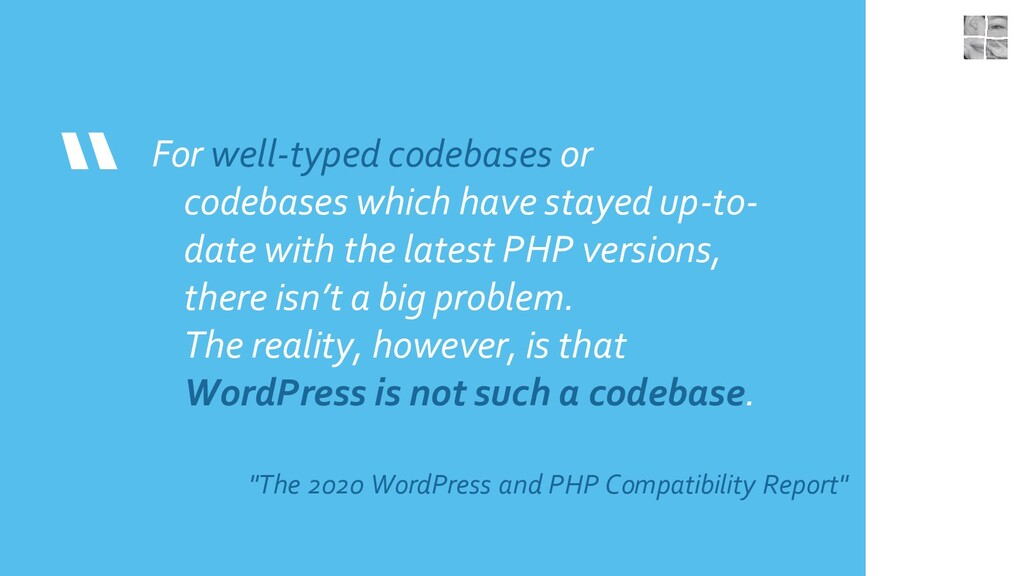 """"""" For well-typed codebases or codebases which h..."""