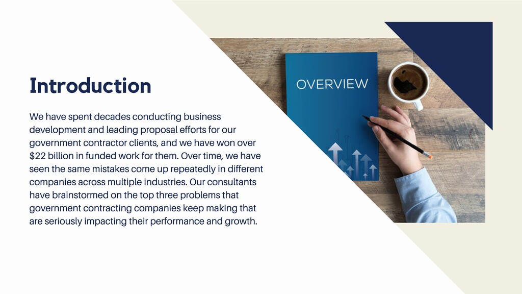 We have spent decades conducting business devel...