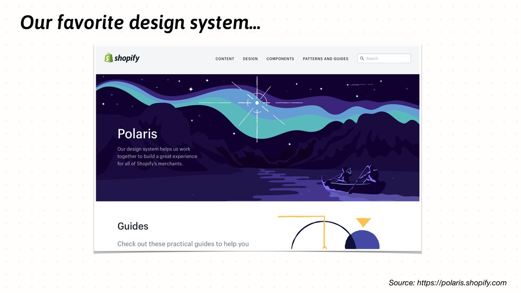 Our favorite design system... Source: https://p...