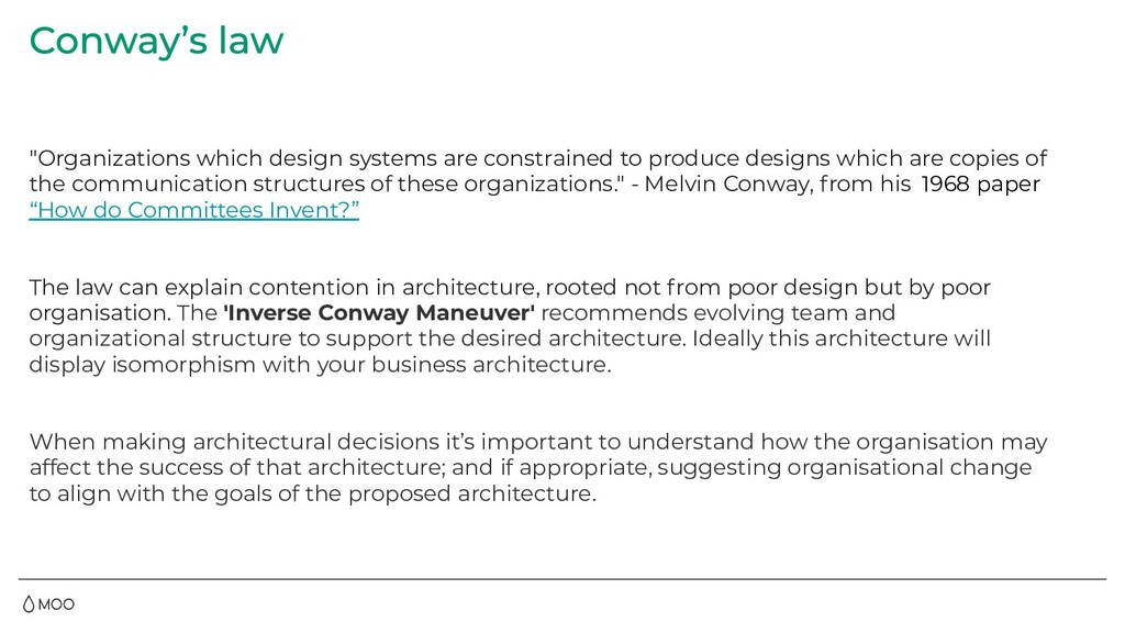 """""""Organizations which design systems are constra..."""