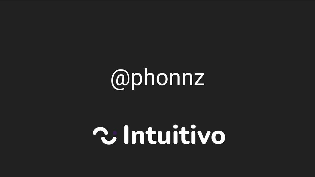 @phonnz Intuitivo