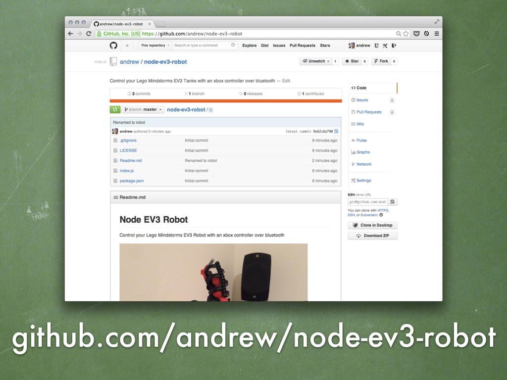 github.com/andrew/node-ev3-robot