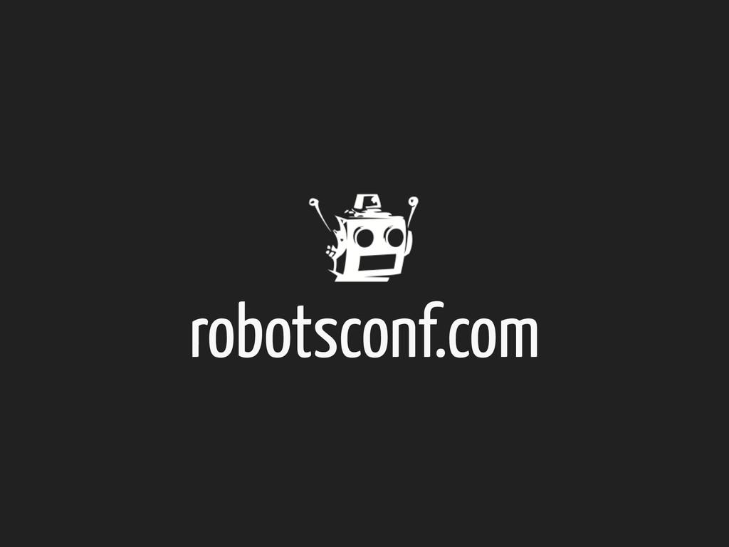robotsconf.com