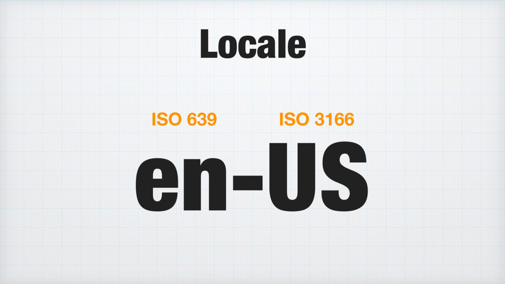 en-US ISO 639 ISO 3166 Locale