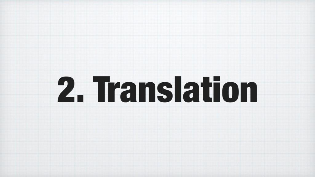 2. Translation