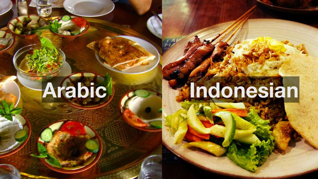 Arabic Indonesian