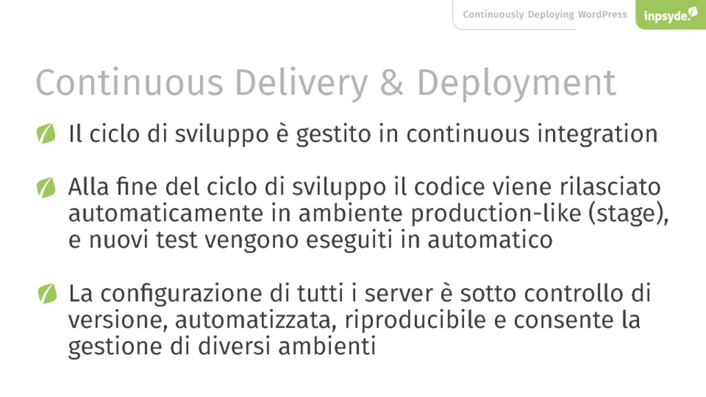 Continuously Deploying WordPress Continuous Del...