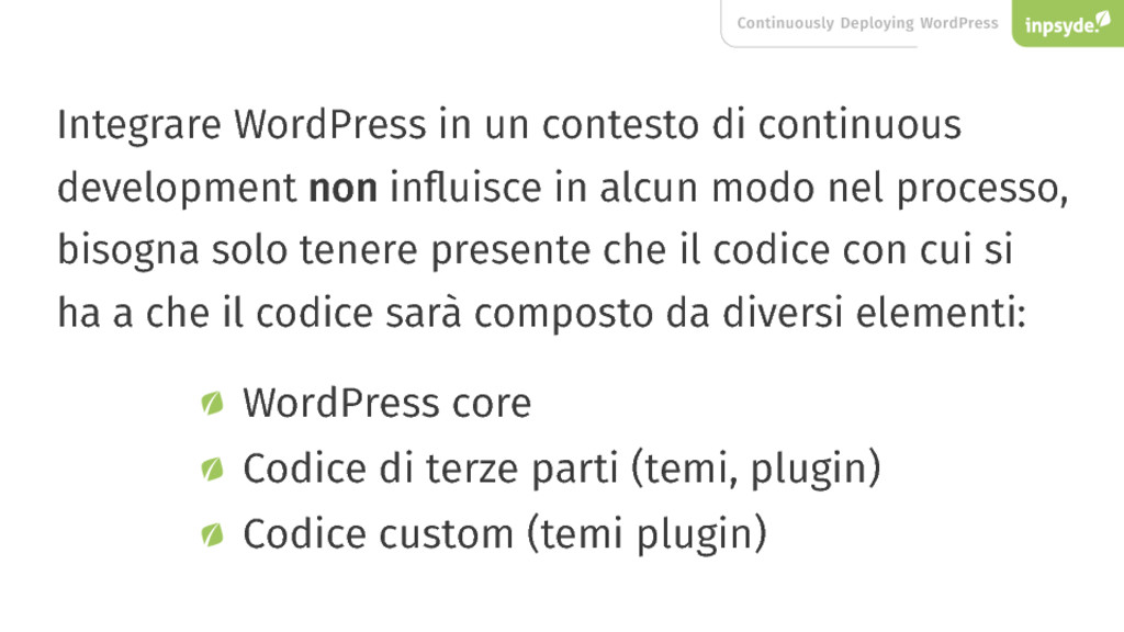 Continuously Deploying WordPress Integrare Word...