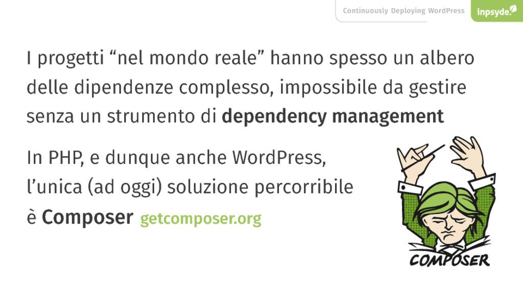 "Continuously Deploying WordPress I progetti ""ne..."