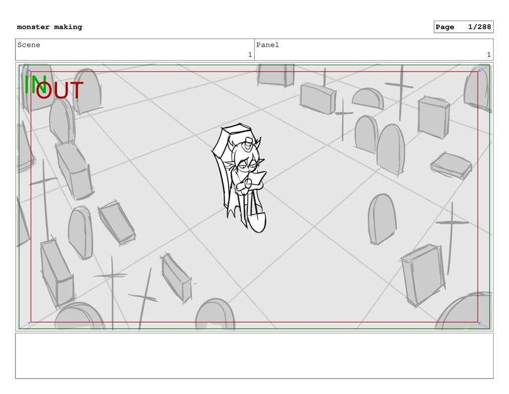 Scene 1 Panel 1 monster making Page 1/288