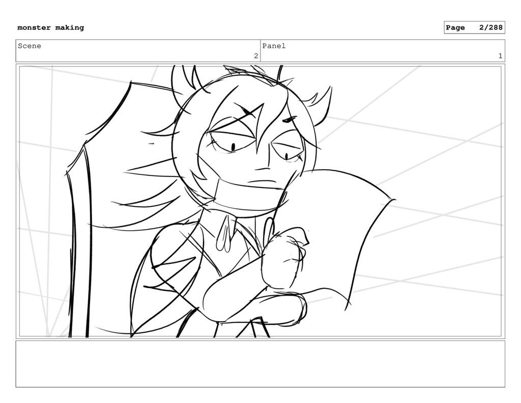 Scene 2 Panel 1 monster making Page 2/288