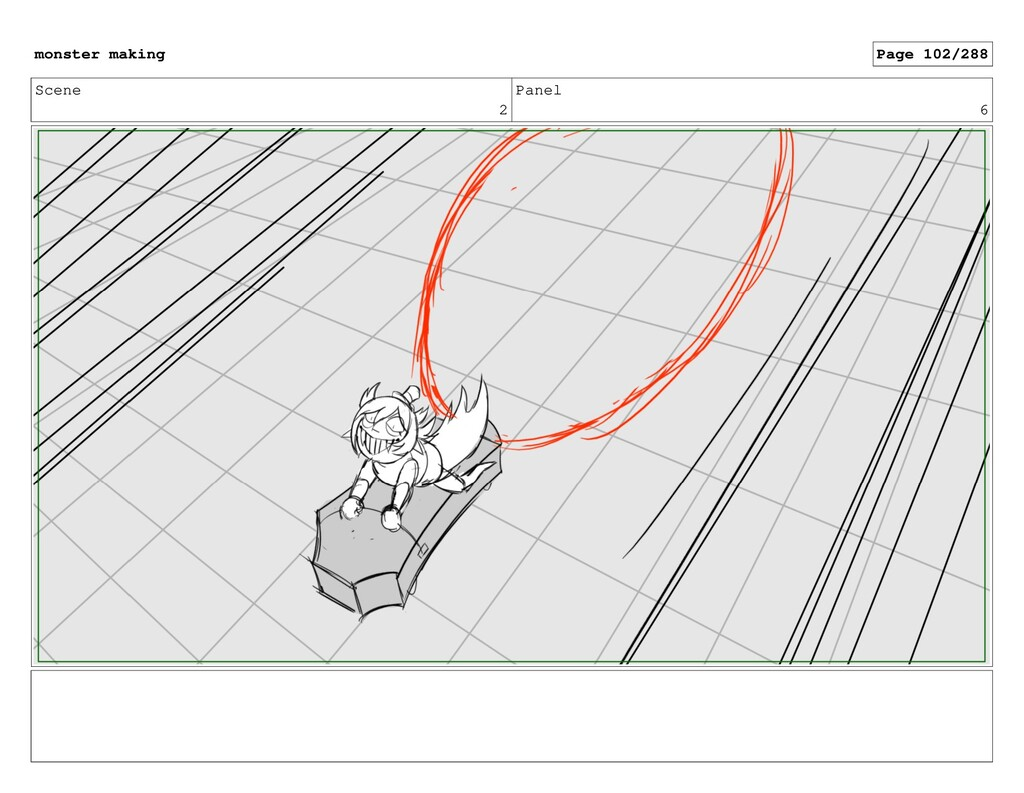 Scene 2 Panel 6 monster making Page 102/288