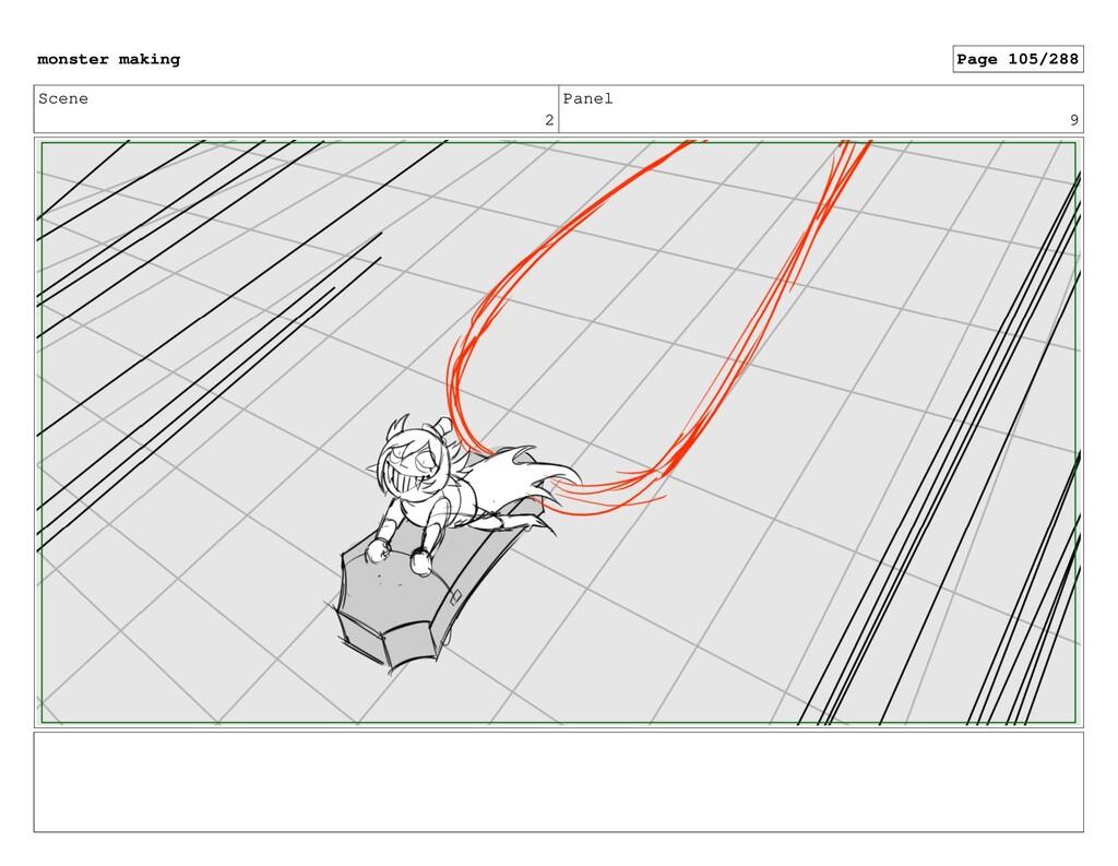 Scene 2 Panel 9 monster making Page 105/288