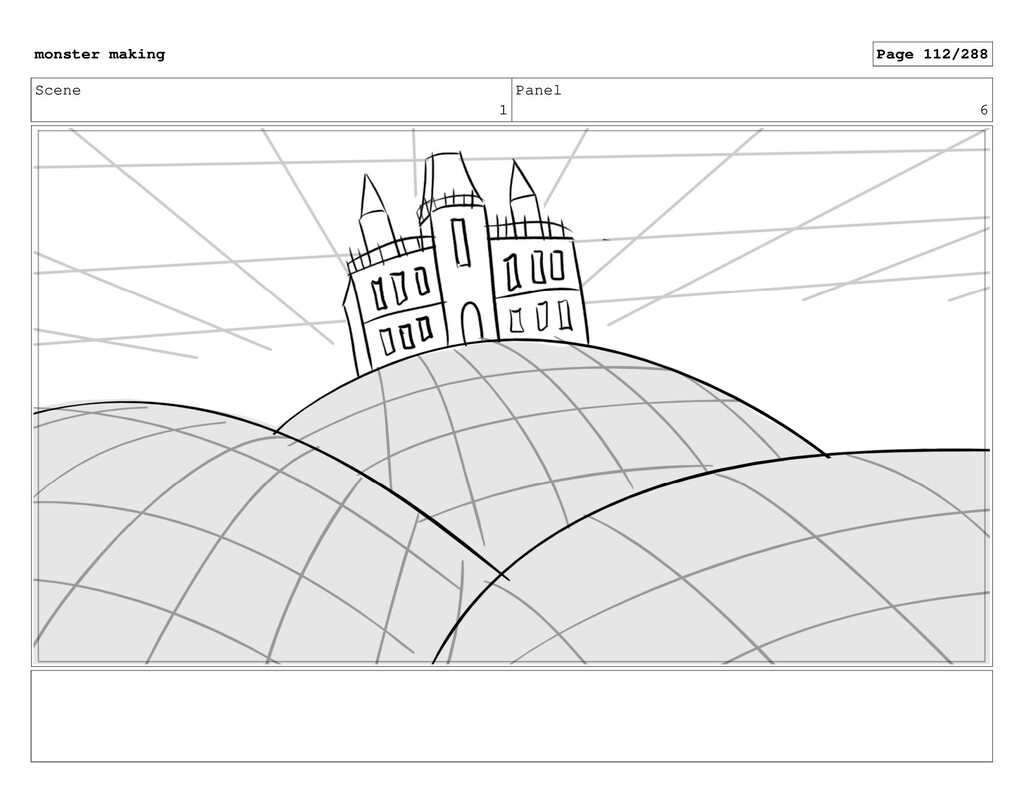 Scene 1 Panel 6 monster making Page 112/288