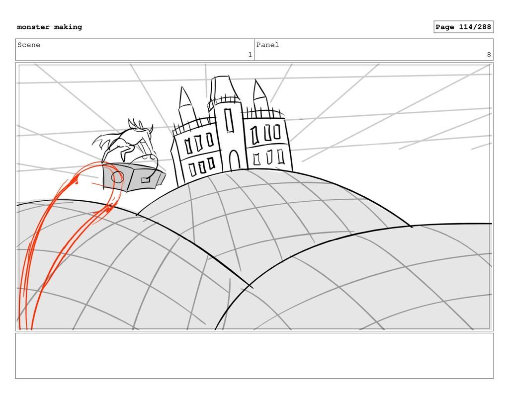 Scene 1 Panel 8 monster making Page 114/288