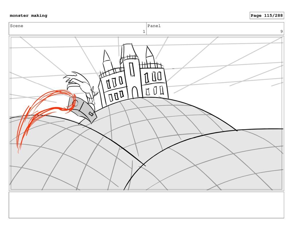 Scene 1 Panel 9 monster making Page 115/288