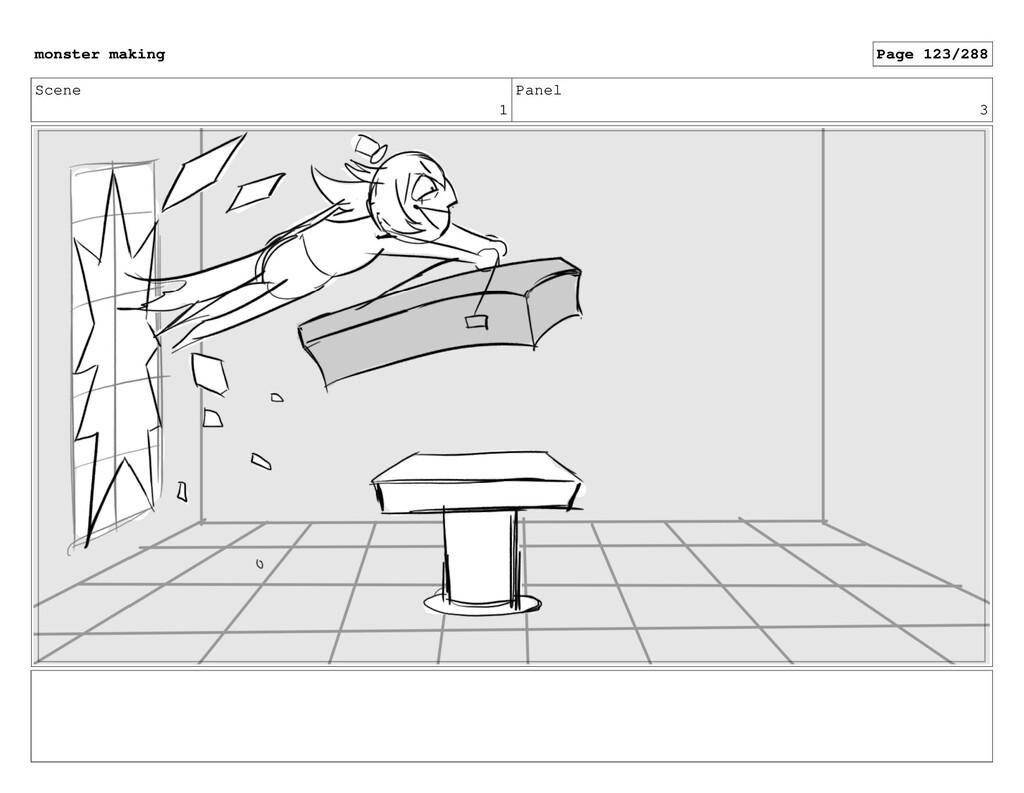Scene 1 Panel 3 monster making Page 123/288