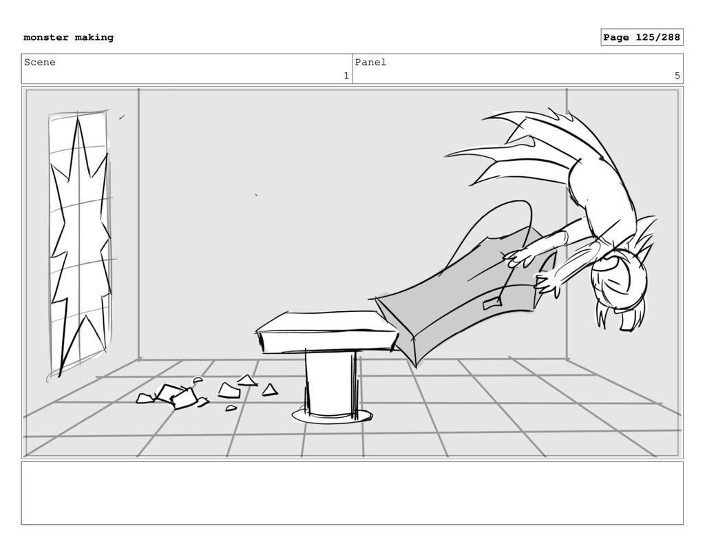 Scene 1 Panel 5 monster making Page 125/288
