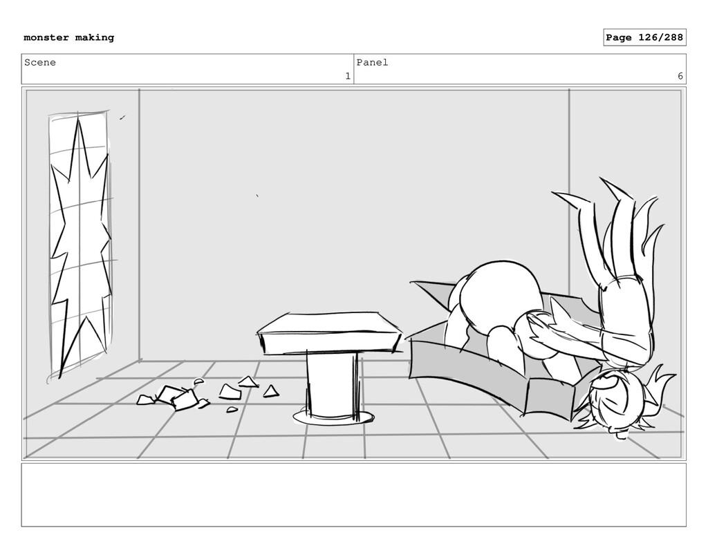 Scene 1 Panel 6 monster making Page 126/288