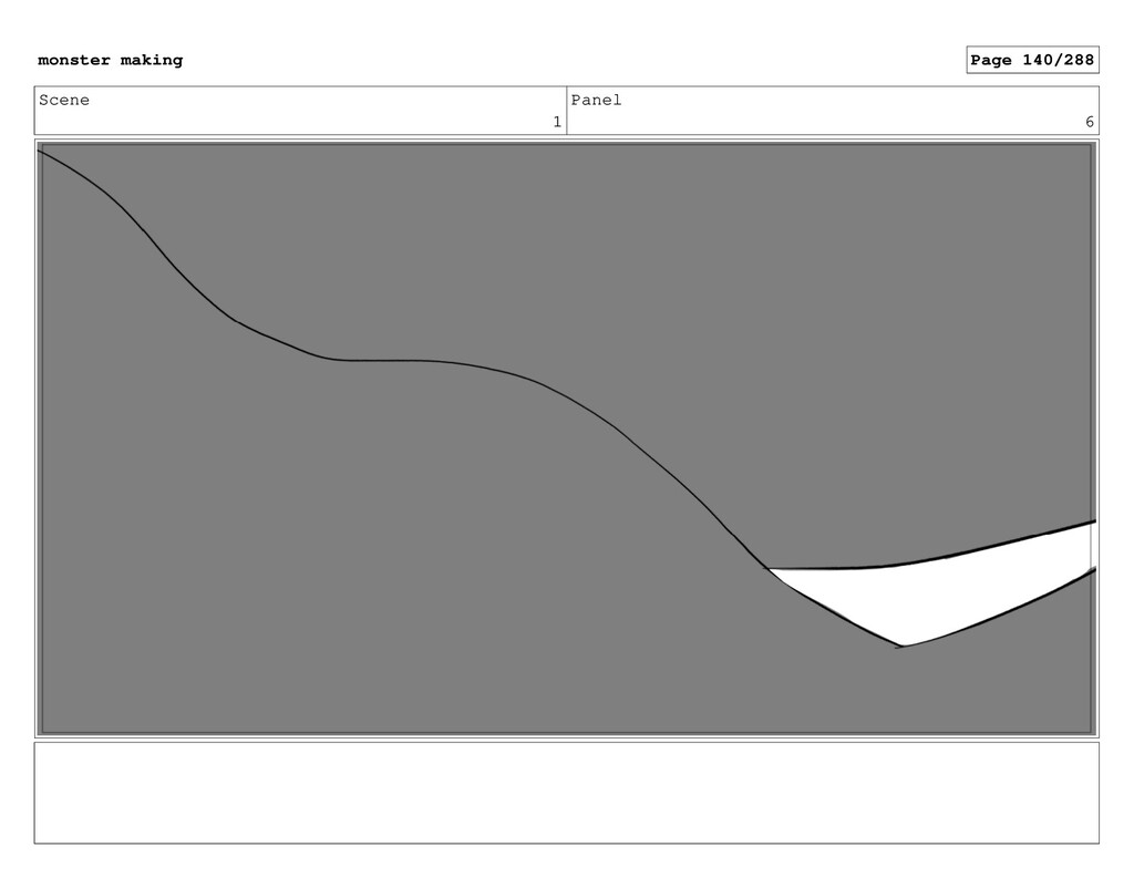 Scene 1 Panel 6 monster making Page 140/288