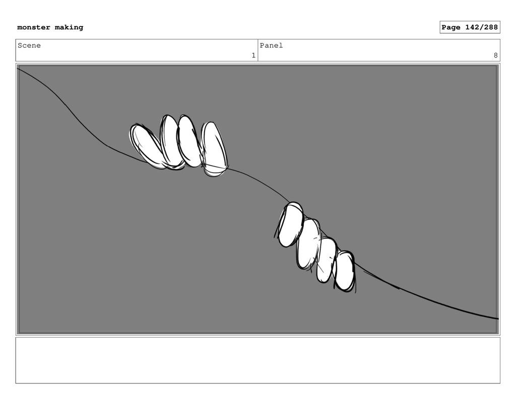 Scene 1 Panel 8 monster making Page 142/288