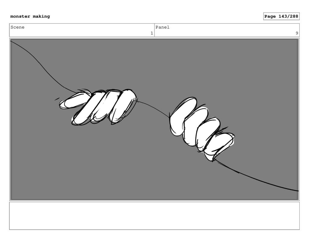 Scene 1 Panel 9 monster making Page 143/288