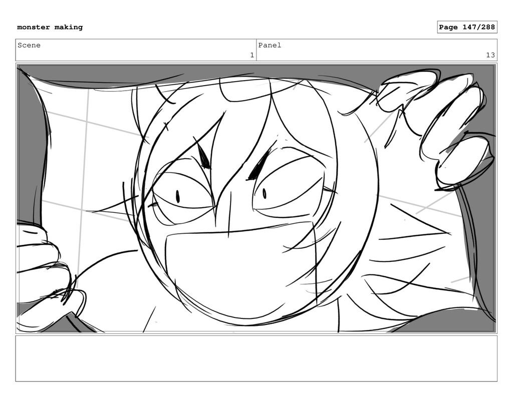 Scene 1 Panel 13 monster making Page 147/288