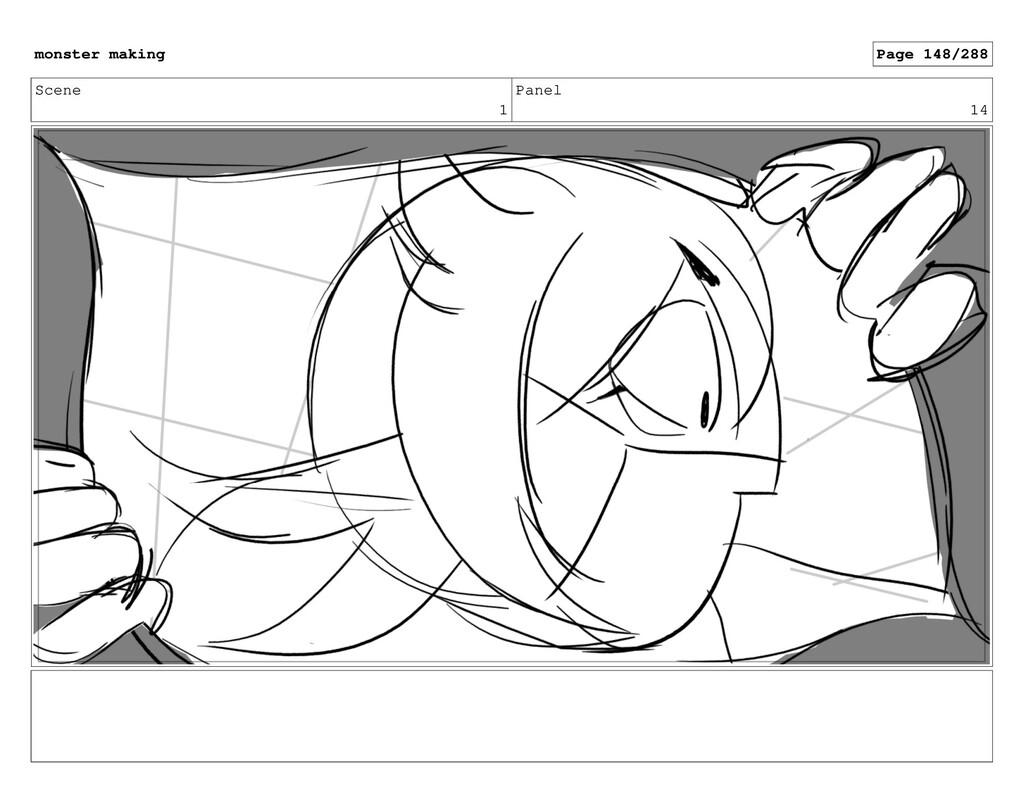 Scene 1 Panel 14 monster making Page 148/288