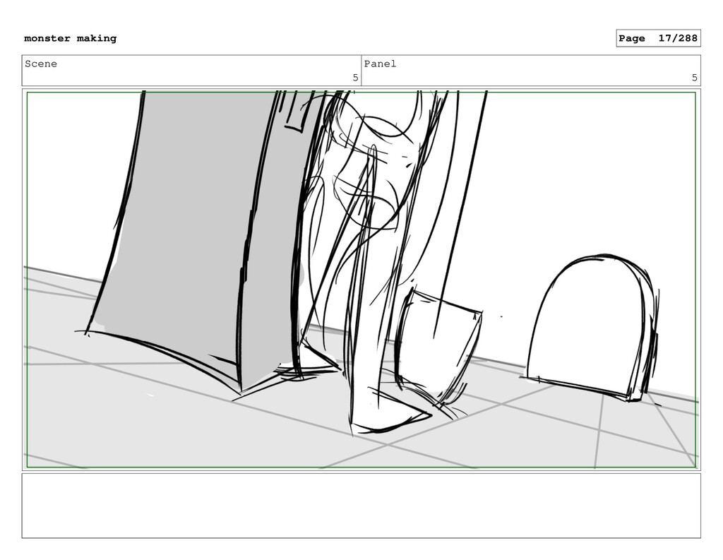 Scene 5 Panel 5 monster making Page 17/288