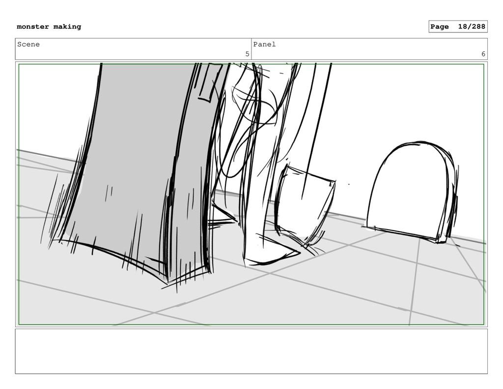 Scene 5 Panel 6 monster making Page 18/288