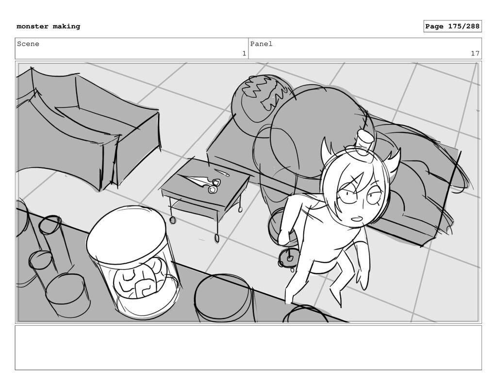 Scene 1 Panel 17 monster making Page 175/288