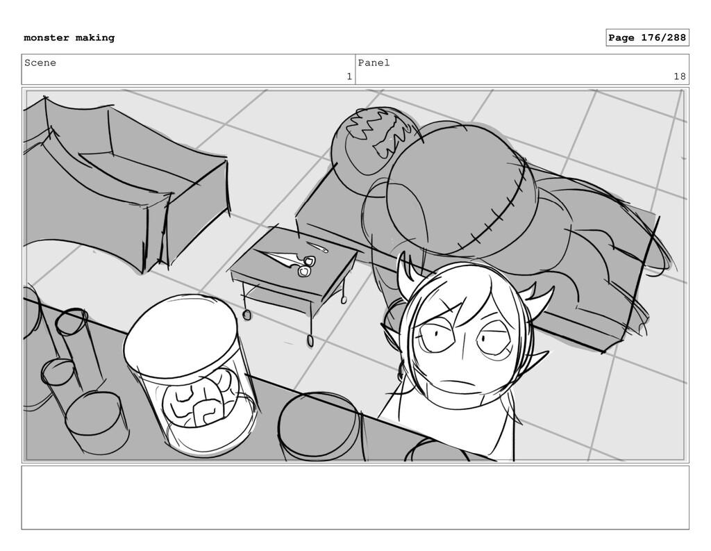 Scene 1 Panel 18 monster making Page 176/288