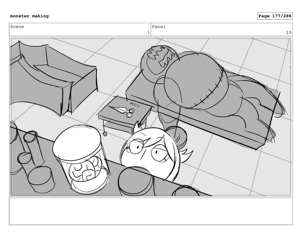 Scene 1 Panel 19 monster making Page 177/288