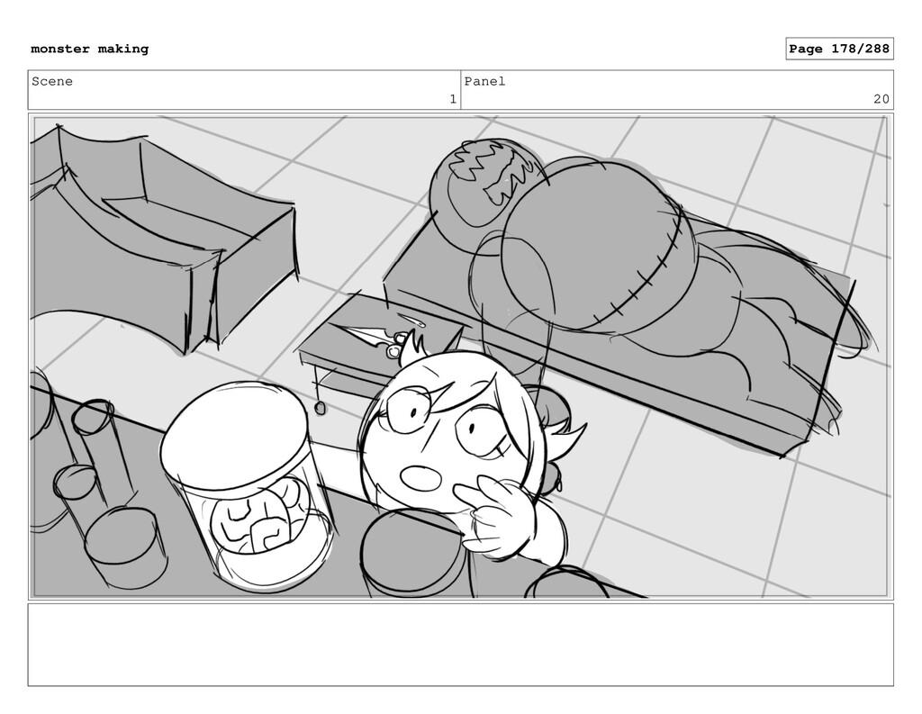 Scene 1 Panel 20 monster making Page 178/288