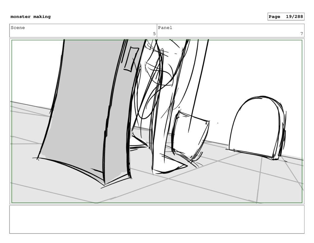 Scene 5 Panel 7 monster making Page 19/288