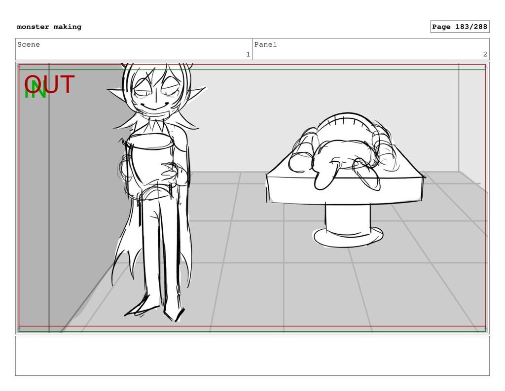 Scene 1 Panel 2 monster making Page 183/288