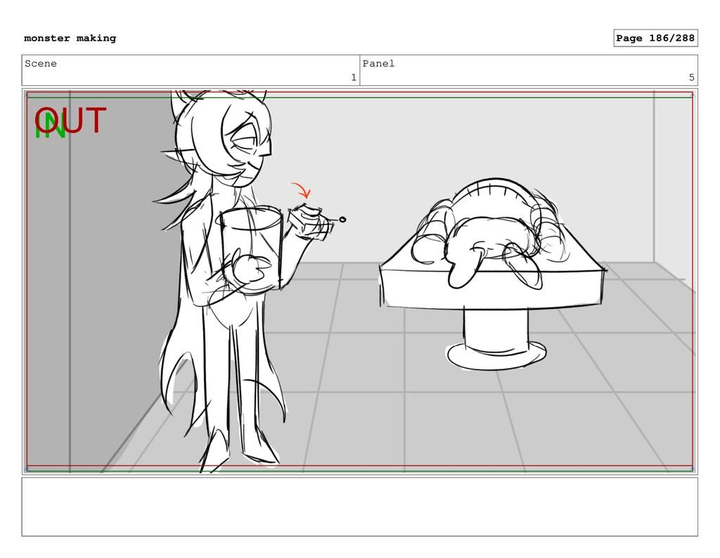 Scene 1 Panel 5 monster making Page 186/288
