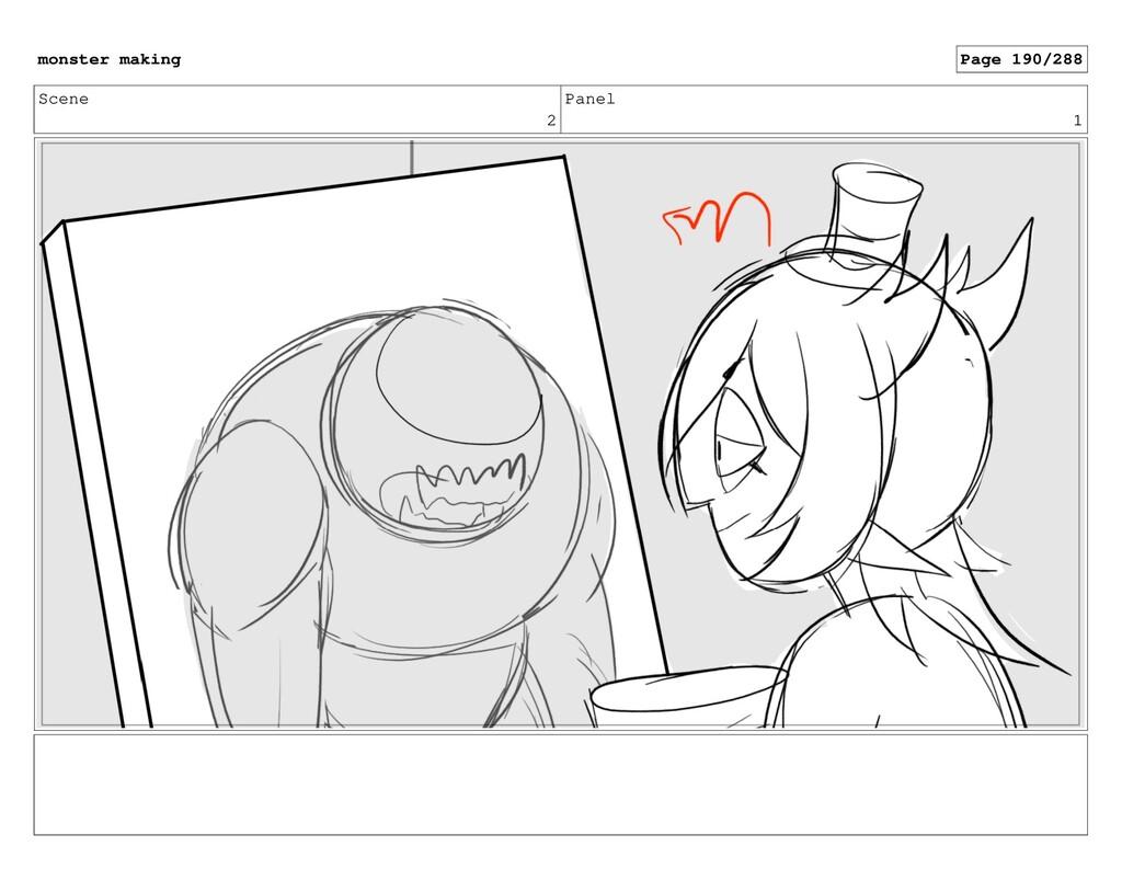 Scene 2 Panel 1 monster making Page 190/288